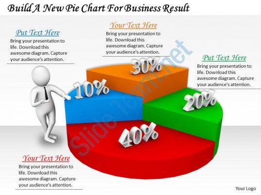 0214 build a new pie chart for business result ppt graphics icons - pie chart templates