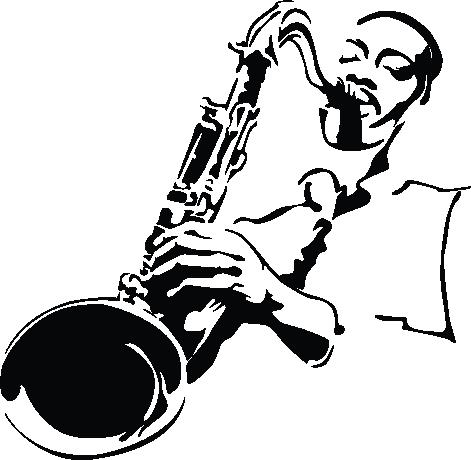 Coloriage saxophone pinterest coloriage musique et - Dessin saxophone ...