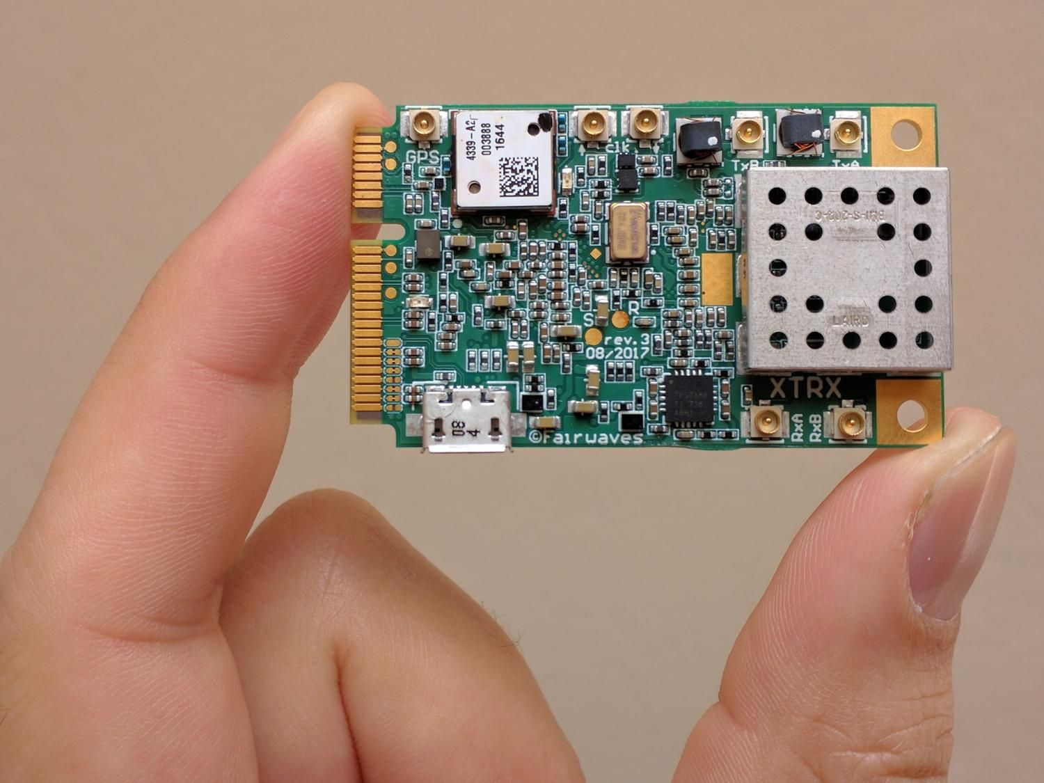The first ever truly embedded SDR (software defined radio