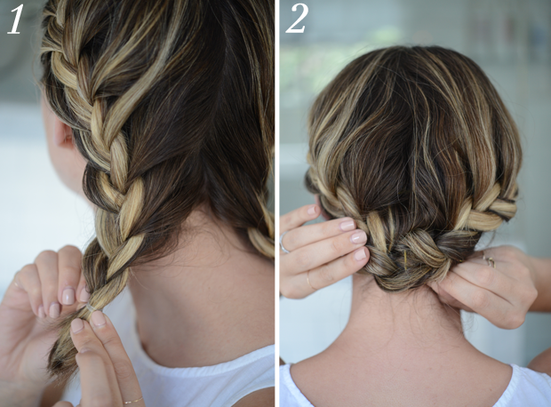Hairstyle Hacks For A Short Bob Cupcakes Cashmere Beauty - Braided hairstyles for short hair step by step