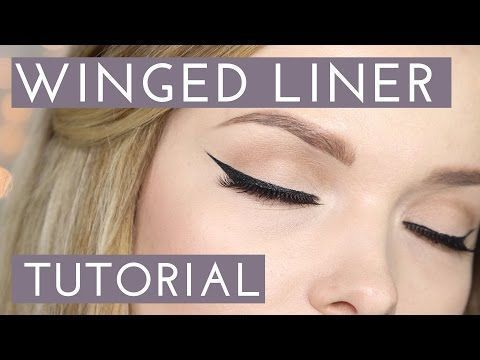 WIE: Einfaches Winged Eyeliner Tutorial // MyPaleSkin - YouTube - Einfach ...   ... -