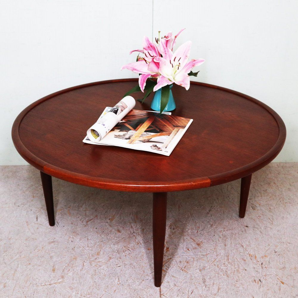 For Sale Danish Round Coffee Table 1950s Coffee Table Table Round Coffee Table [ 1000 x 1000 Pixel ]