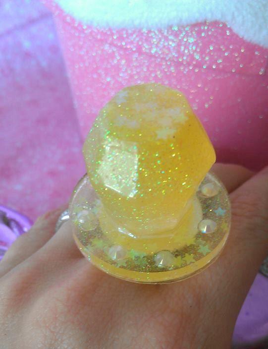 Lemon Yellow Rings