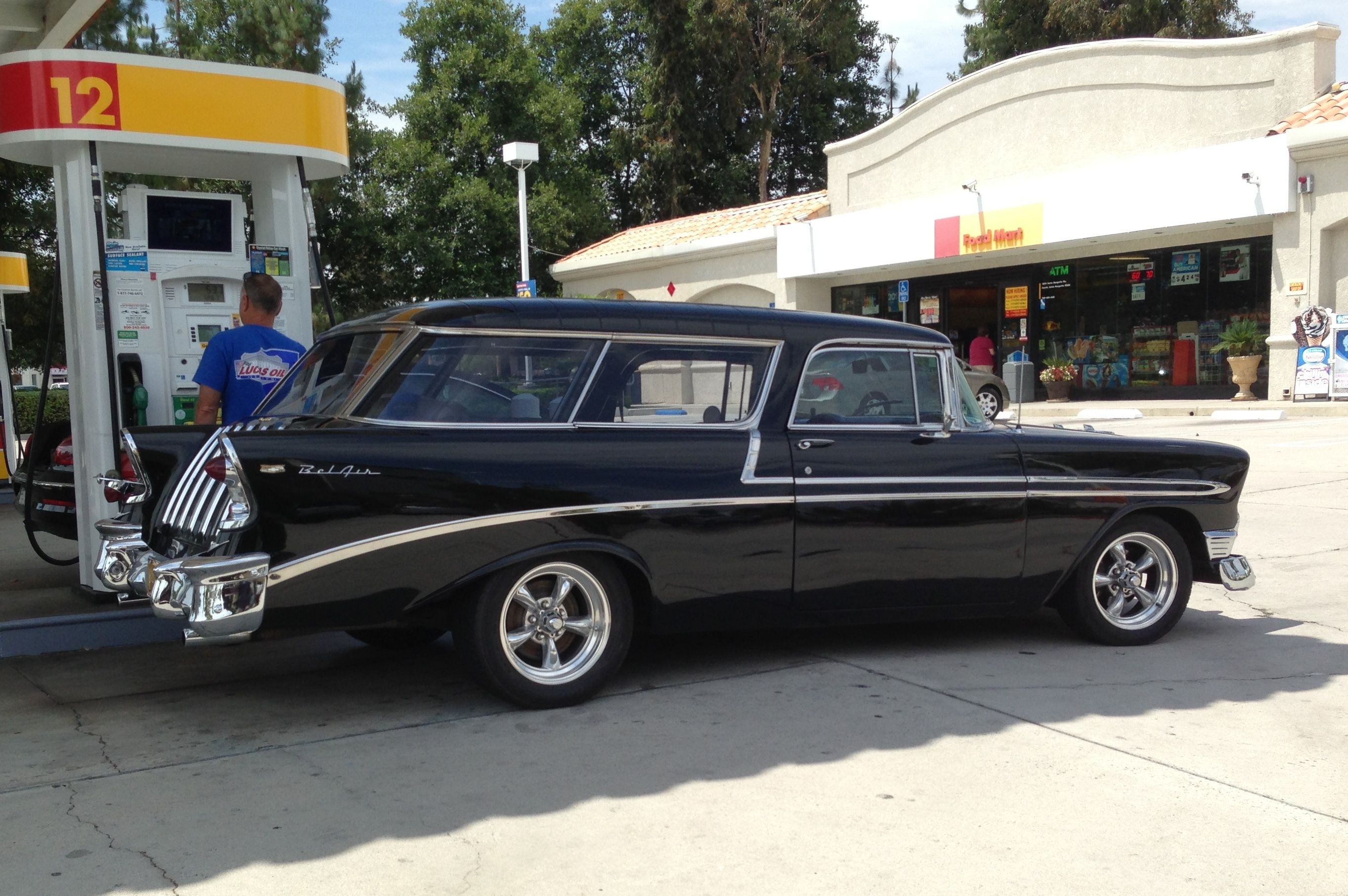 \u002756 Chevy Bel Air Nomad (2 door station wagon) & 56 Chevy Bel Air Nomad (2 door station wagon) | Wheels | Pinterest ...