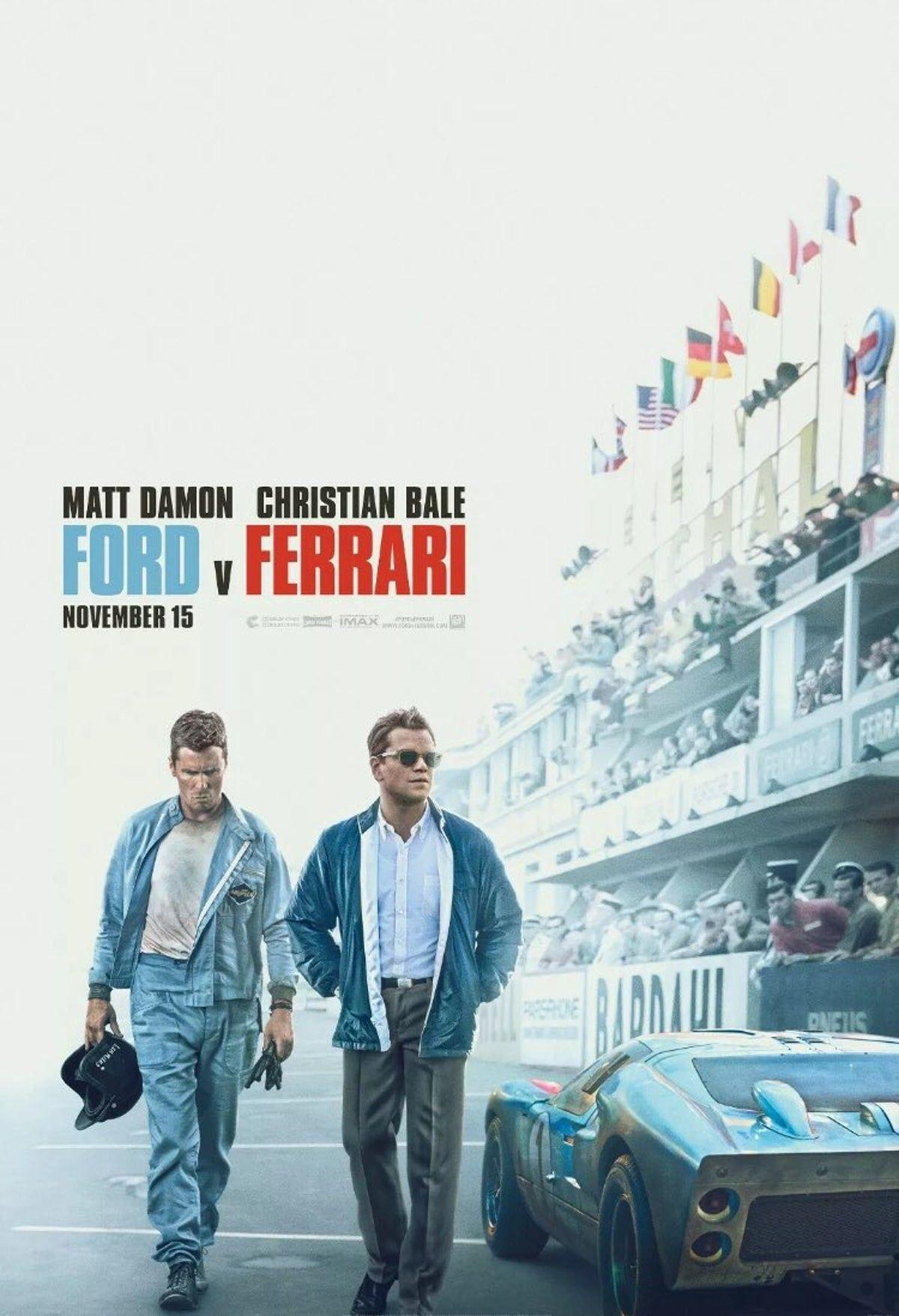 Ford V Ferrari Movie Poster 11x17 On Mercari Ferrari Carroll