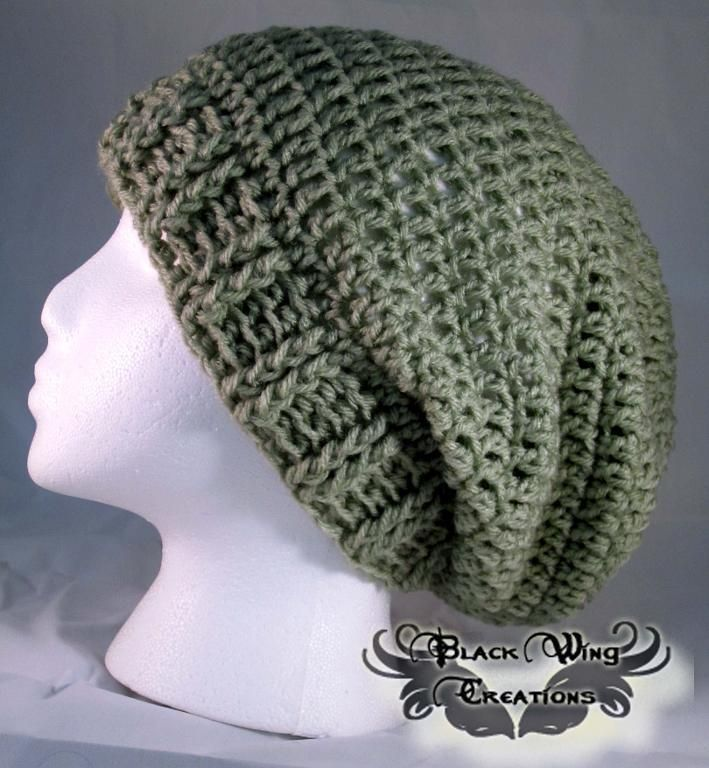 e03e4731525 (4) Name   Crocheting   Basic Slouchy Beanie. Looking for your next  project  You re going to love Basic Slouchy Beanie by