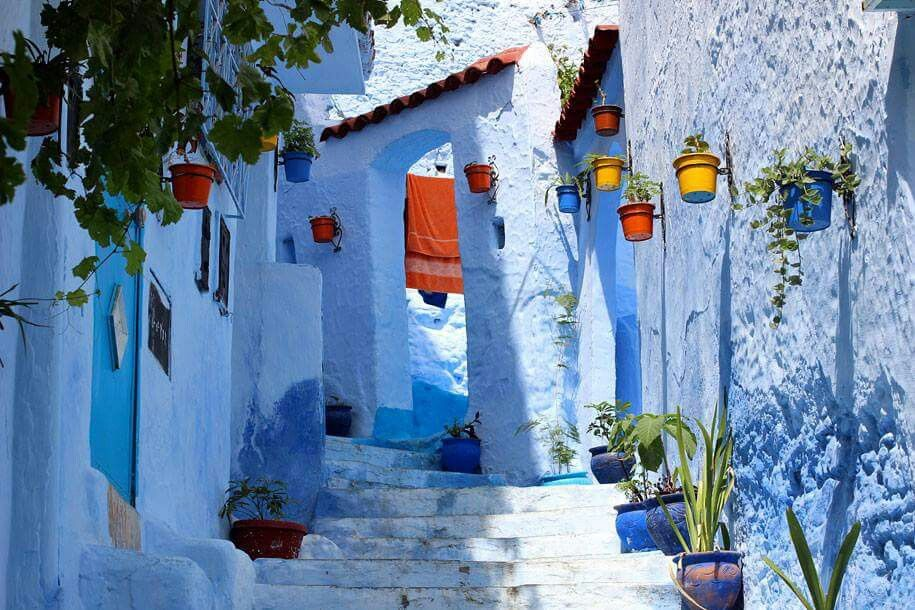 Chefchaouen...Morocco Blue city, Chefchaouen, Blue paint