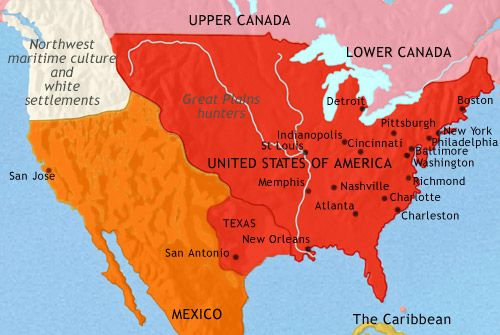 Map Of Us Timelines USA History through maps | History, History timeline, American history