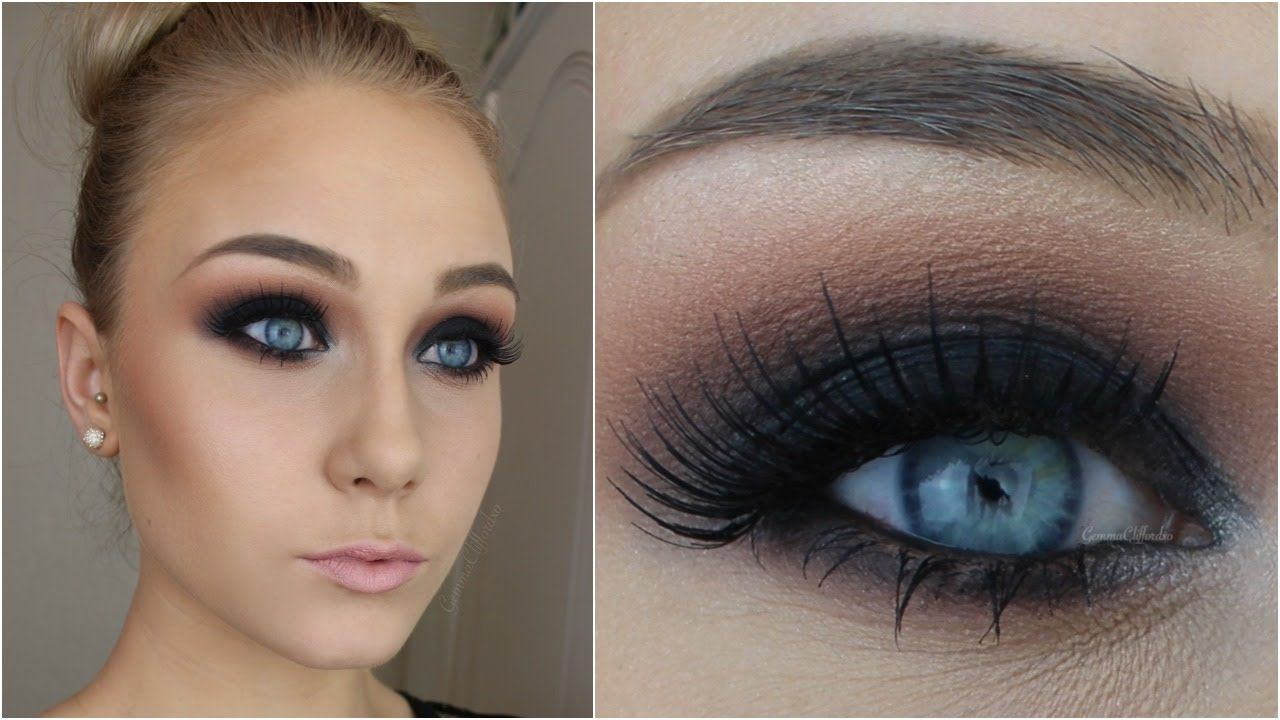 For Beginners Black Smokey Eye In 12 Simple Steps