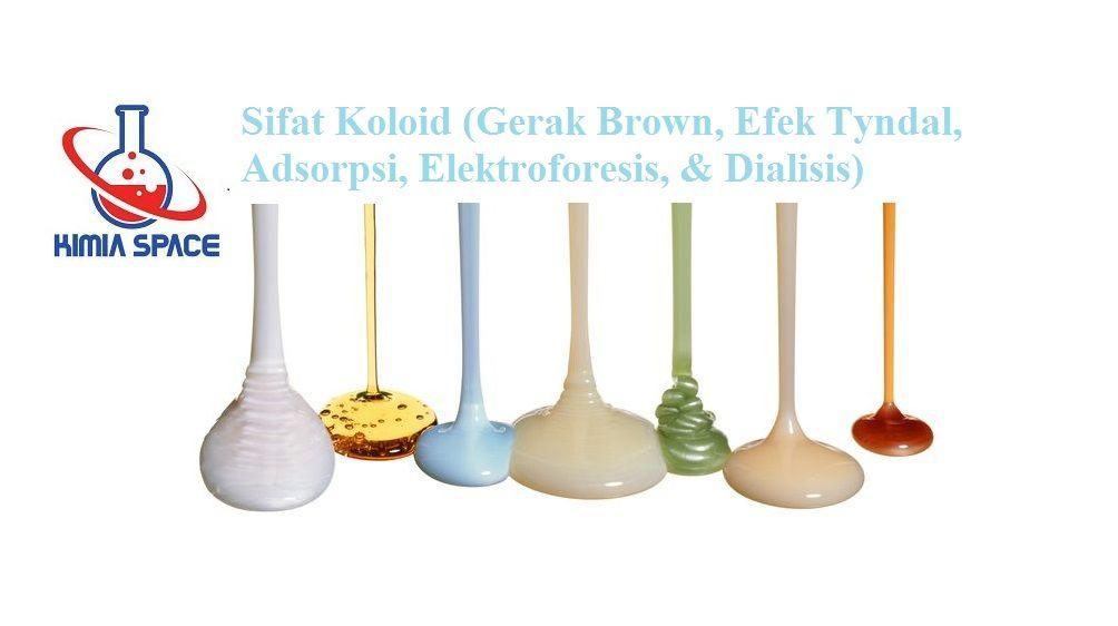 Sifat Koloid Gerak Brown Efek Tyndal Adsorpsi Elektroforesis Gerak Brown Gerak Plasma Darah