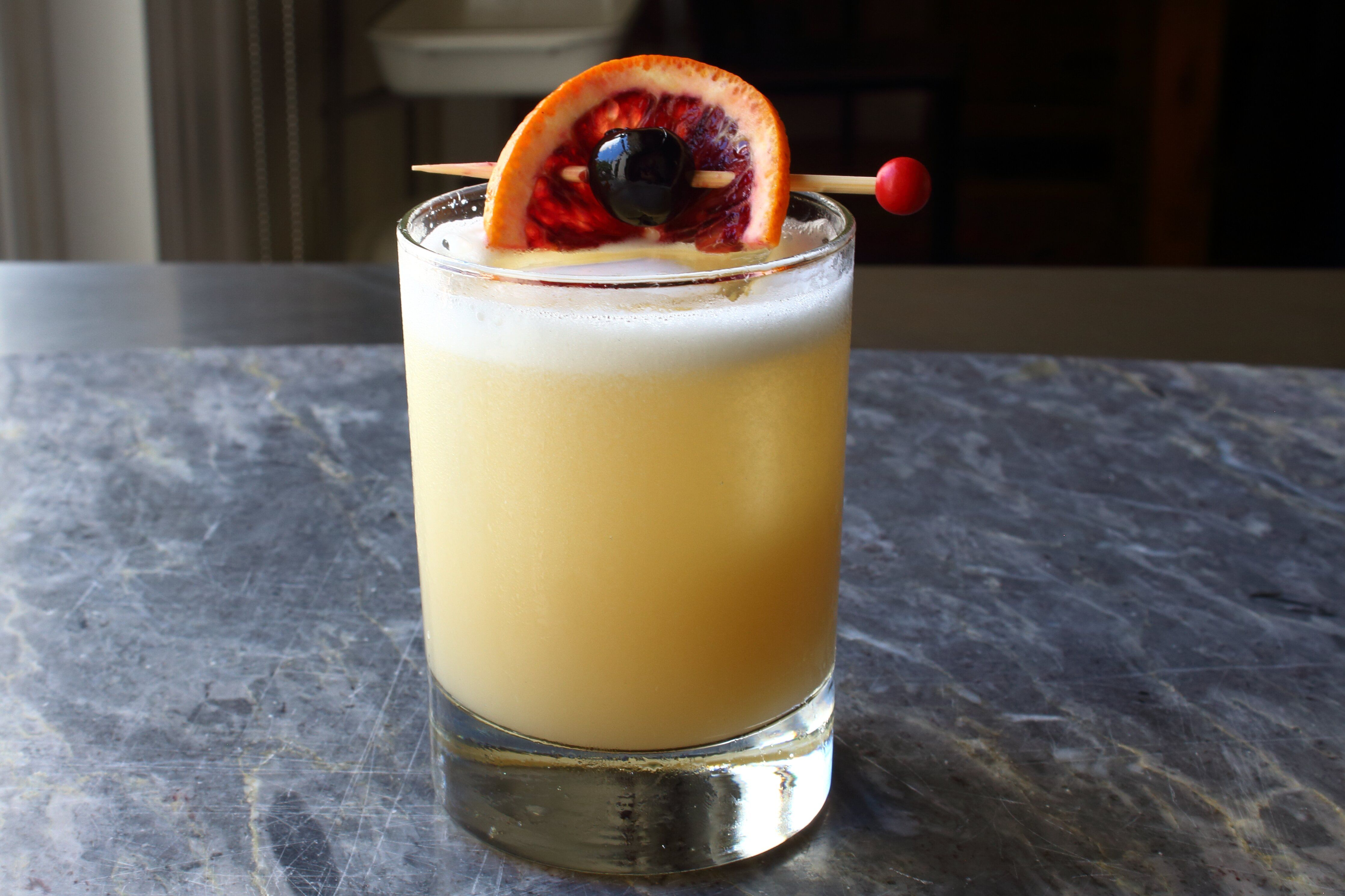 how to make whiskey sour mix