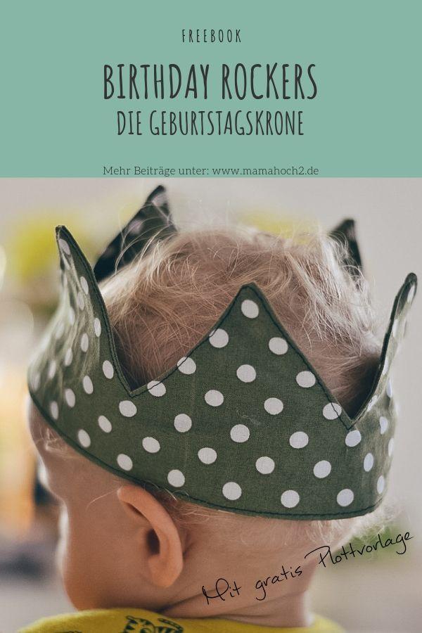 Photo of Birthday Rockers – Anleitung Geburtstagskrone nähen mit Schnittmuster ⋆ Mamahoch2