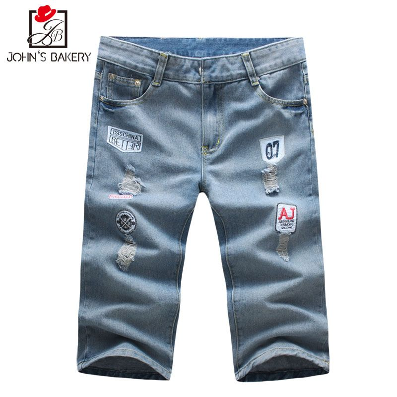 2017 Mens Shorts Casual Bermuda Brand Cowboy Compression Male Cargo Shorts Men Linen Fashion Men Short Summer Linen 38 EUDJB