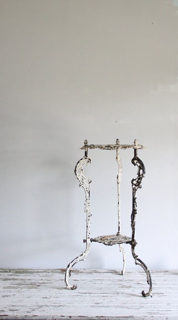 Jon Knapp Only Antique 1920s Cast Iron Plant Stand