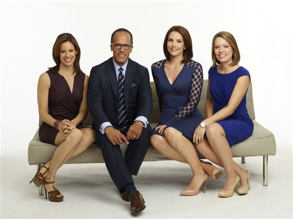 The Weekend Today Team Features Jenna Wolfe Lester Holt Erica Hill