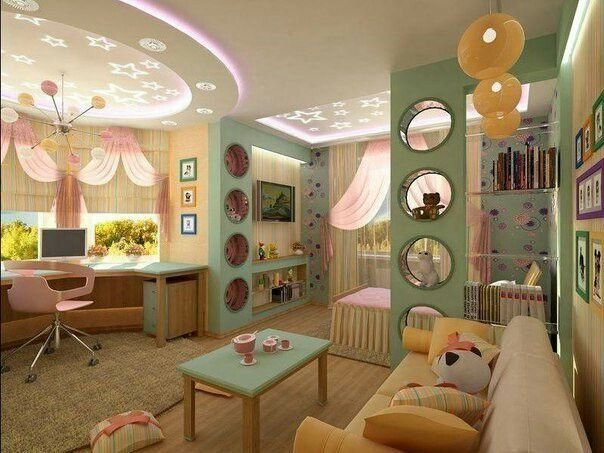 Mean Amazing Ceiling Designs For Your Kids Room   Cool Room Dividers