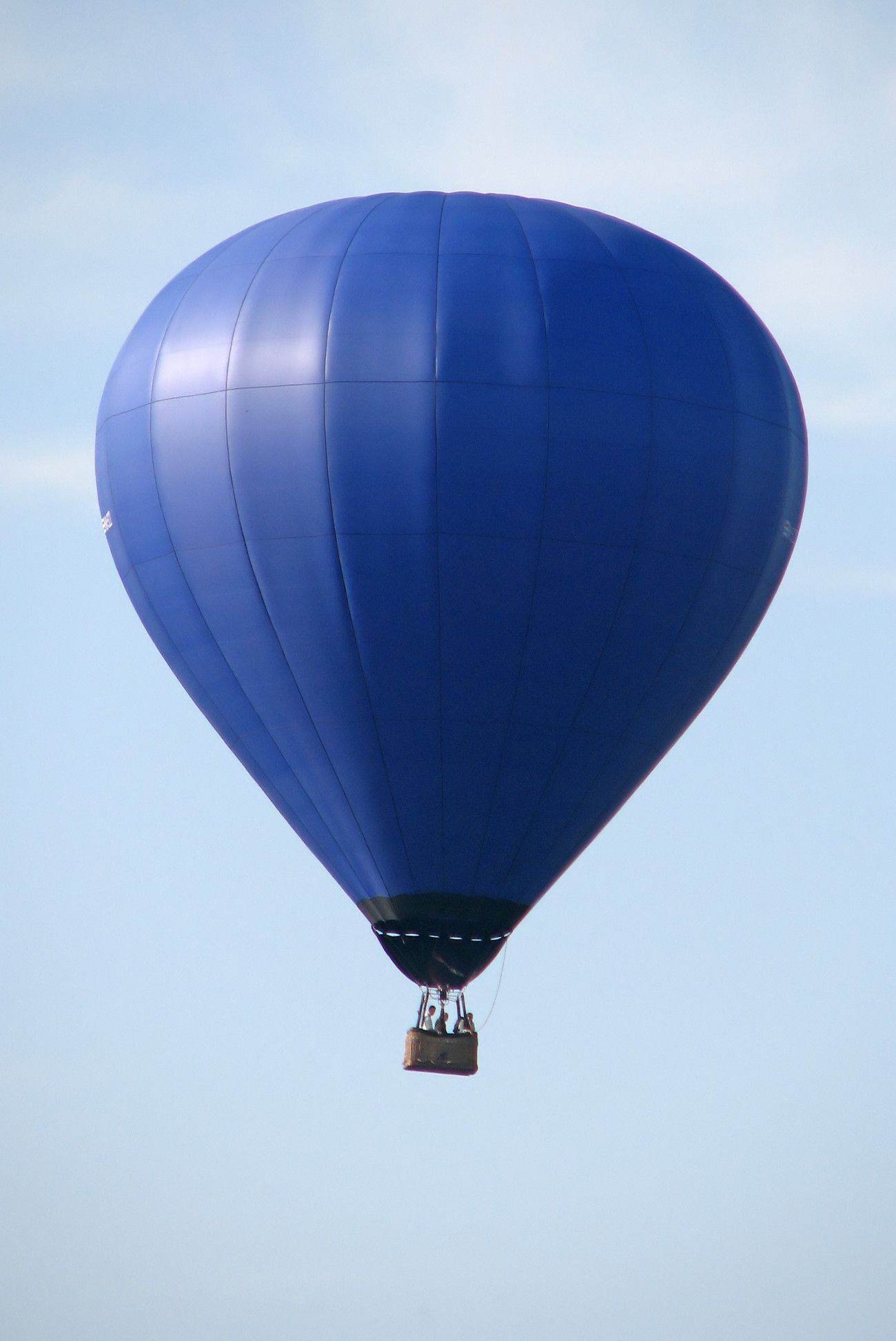 blue hot air balloon ***Blue Passi n*** Pinterest