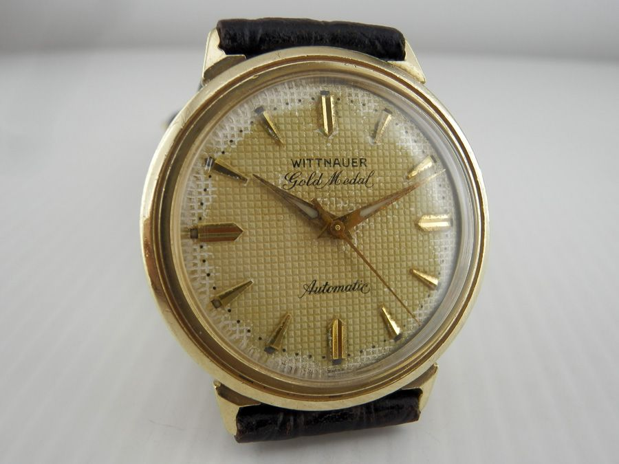 Wittnauer Watch Value >> Authentic Vintage Wittnauer Gold Medal Automatic Wrist Watch
