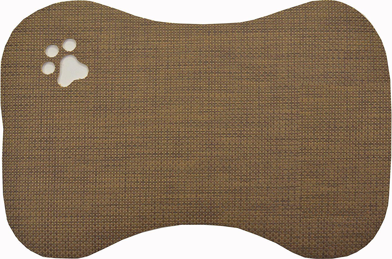 Home Dynamix 1PPMDG500 Bowl Mat, 16' x 24', Brown * Read
