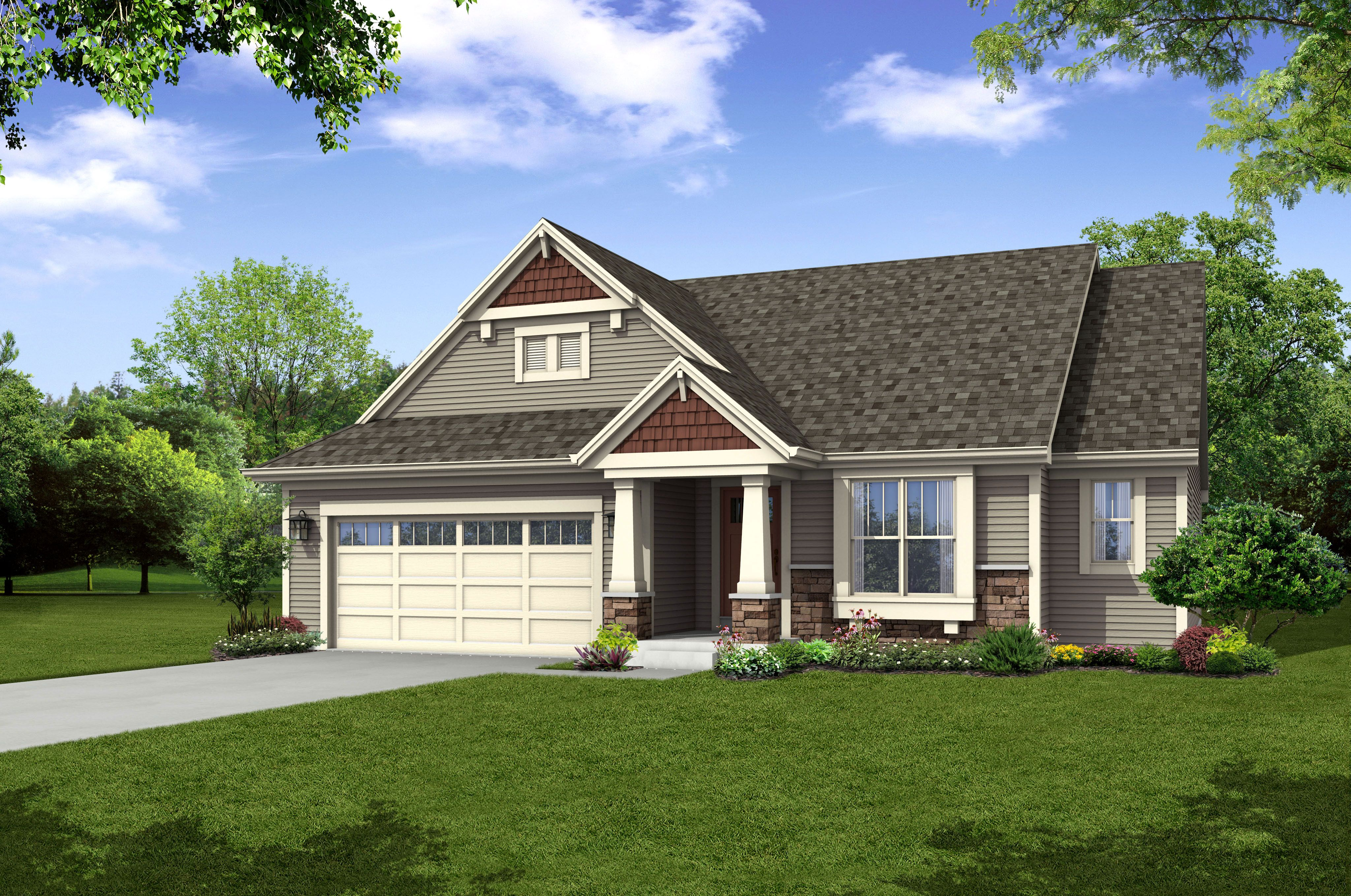 The Lauren, Plan 1640 - Arts & Crafts   Ranch   1,640 sq ft ... on arts and crafts post and beam, arts and crafts bungalow home plans, arts and crafts carriage house, arts and crafts small house plans,