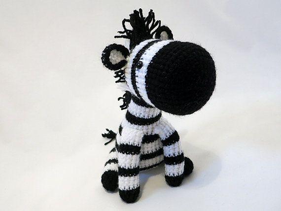 Made to order amigurumi zebra plush crochet zebra doll striped made to order amigurumi zebra plush crochet zebra doll striped horse amigurumi horse softie safari toy black and white dt1010fo