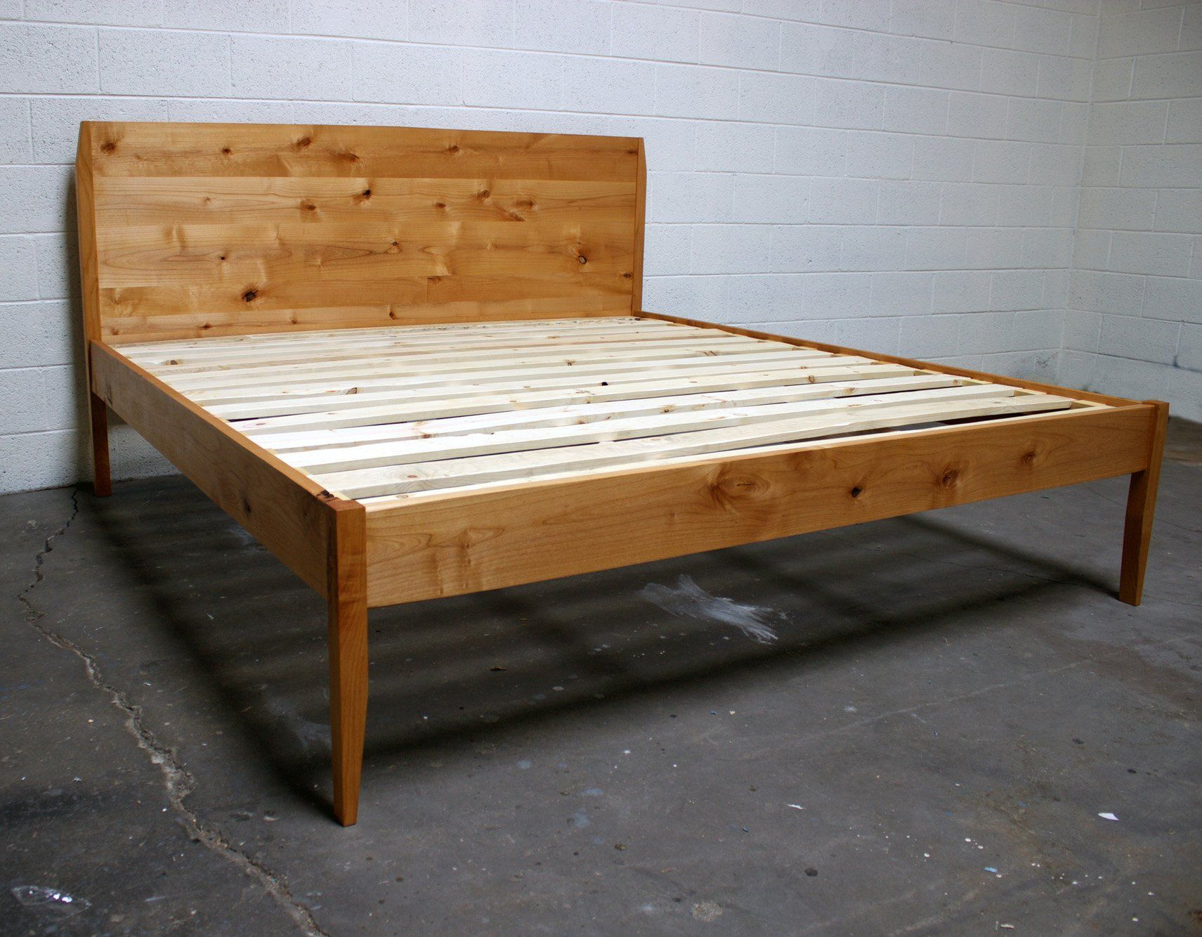 Please Allow Us 4 6 Weeks To Build This Bed For You The