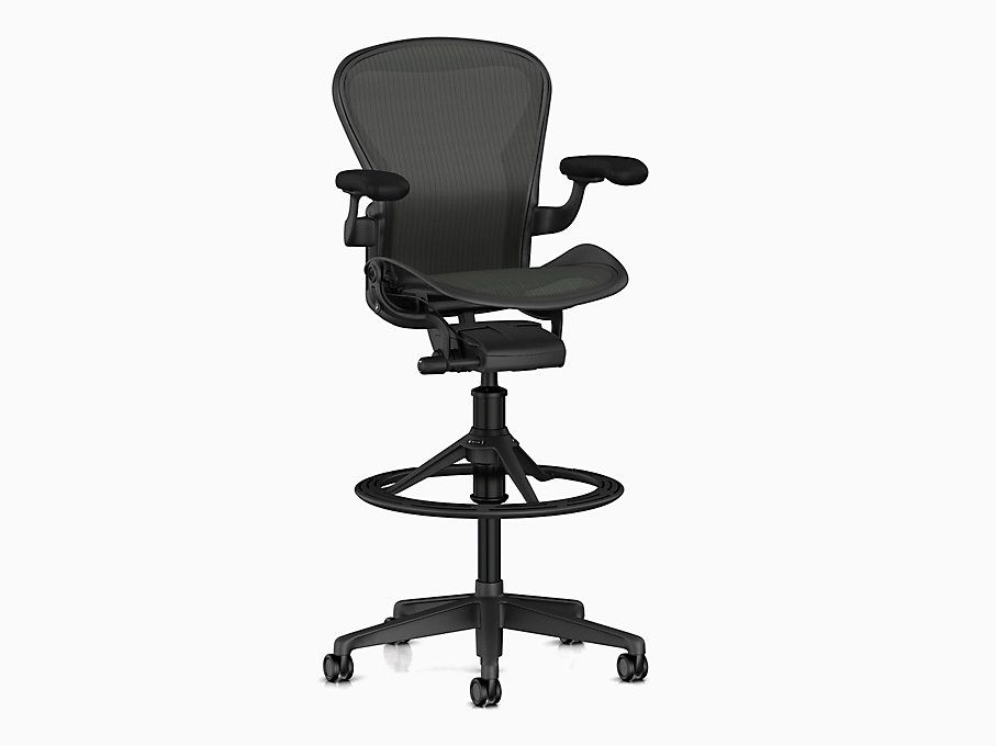 Aeron stool counter height in 2020 work chair stool
