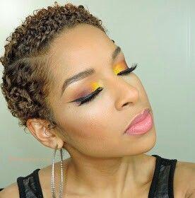 Slick Down Twa Beauty By Lee Natural Hair Styles Hair Styles