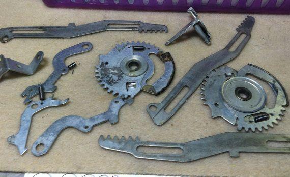 steampunk cog gear parts from vintage victor adding by mkpdestash, $6.00