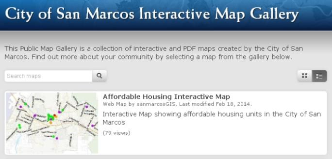 City Of San Marcos Ca Gis Maps And Services Interactive Map Search Map Resume