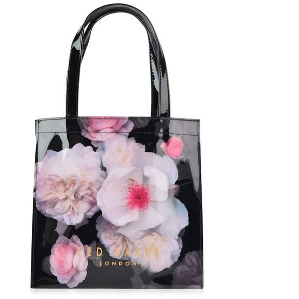 Ted Baker Cerycon Icon Bag 150 Sar Liked On Polyvore Featuring Bags Handbags Tote Bags Black Vinyl Tote Bags To Bags Ted Baker Purse Ted Baker Handbag