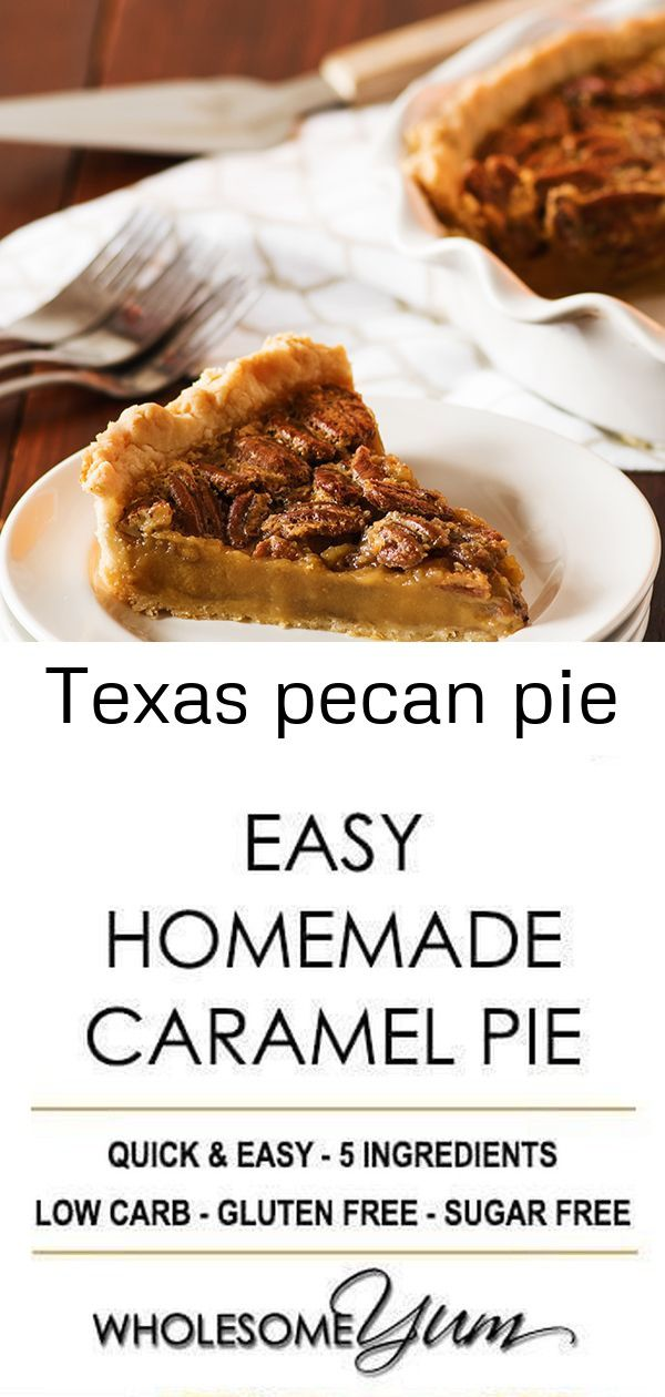 Texas pecan pie Texas Pecan Pie  A southern favorite our is a delicious combination of buttery crisp pie crust loaded with a rich filling that celebrates Texas pecans Thi...