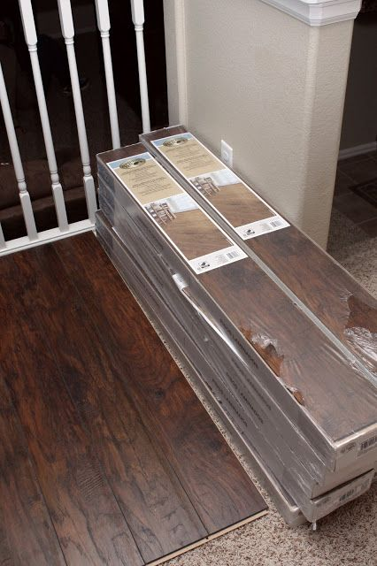 Our Modern Homestead DIY Laminate wood flooring project!- Flooring