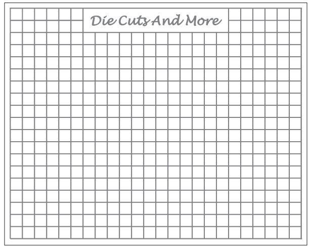 Metric graph paper information