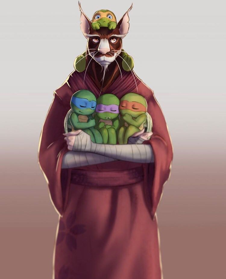 Splinter And Sons Tmnt Quite Adorable But I Ll Save You My Usual Spiel Teenage Mutant Ninja Turtles Art Teenage Mutant Ninja Turtles Artwork Tmnt Turtles