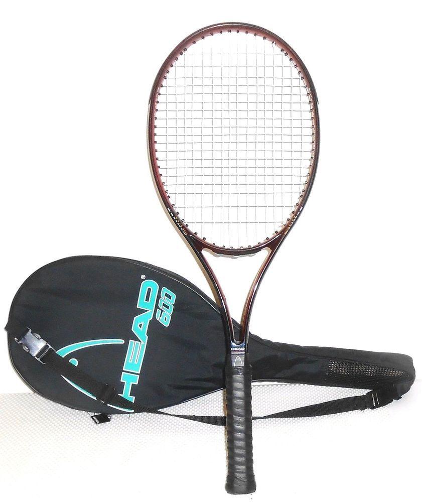 """Head Polaris 600 Tennis Racquet 4 5/8"""" Grip Made in"""