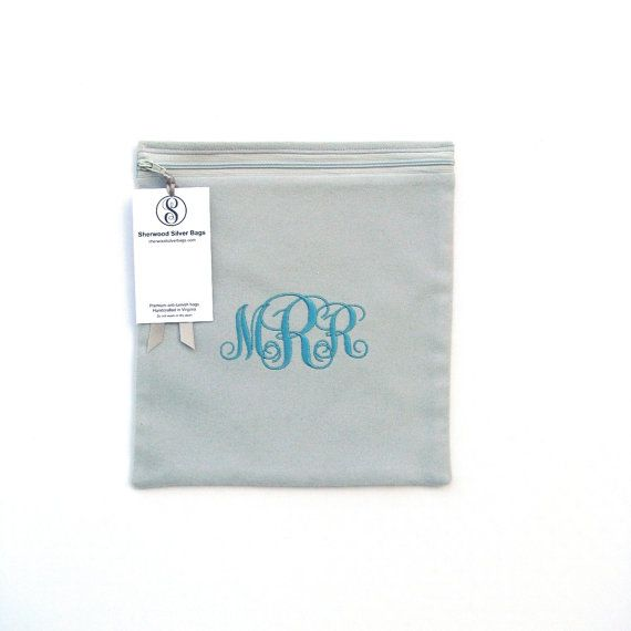 Beautiful Anti Tarnish Bag X For Silver Storage, Monogrammed Sterling Silver Storage  Bags, Holloware, Silverware, Simple Elegance Collection.