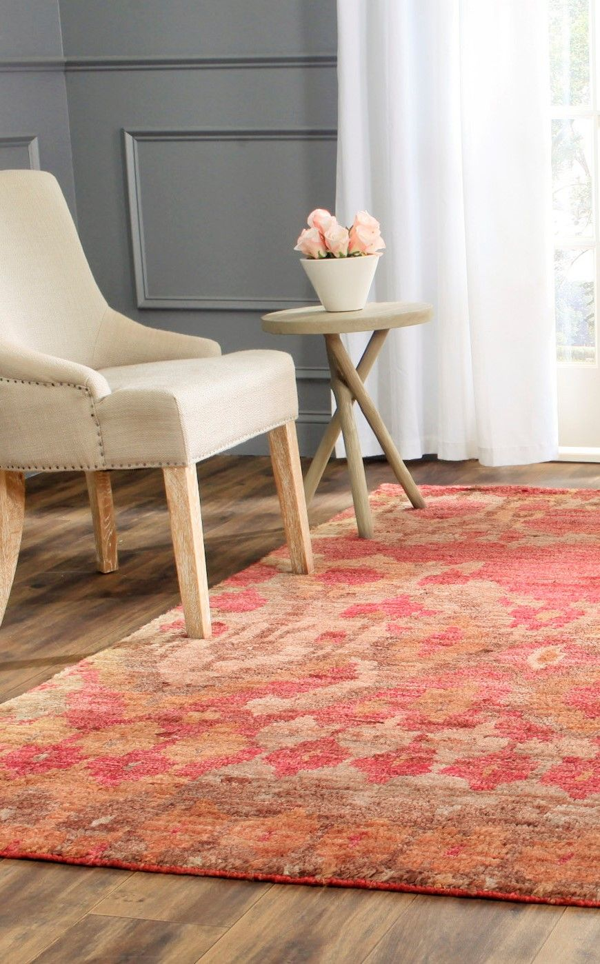 Rothwell Hand Knotted Red Gold Rug Gold Rug Rugs Small Living - Teppich Inka