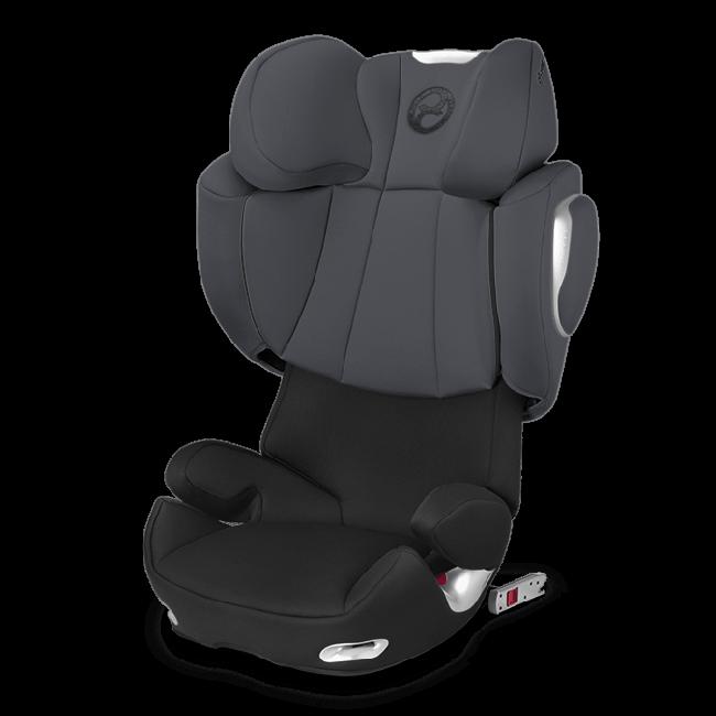 Cybex Solution Q2 Fix Phantom Grey Car Seats Booster Car Seat Booster Seat