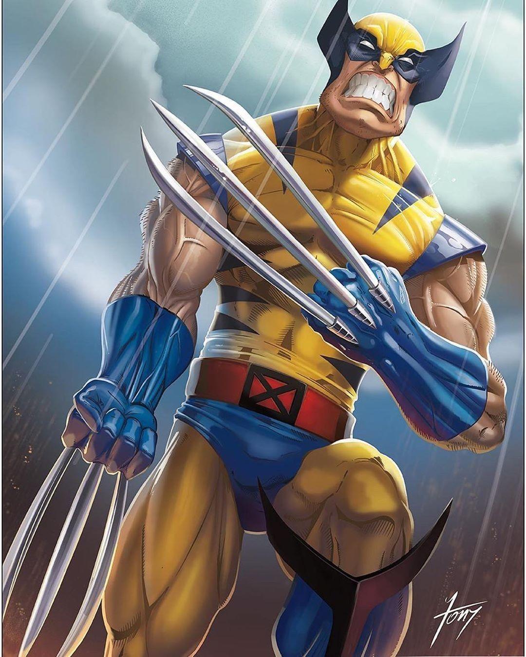 Pin de Mike Angelo en Wolverine en 2020 X men personajes