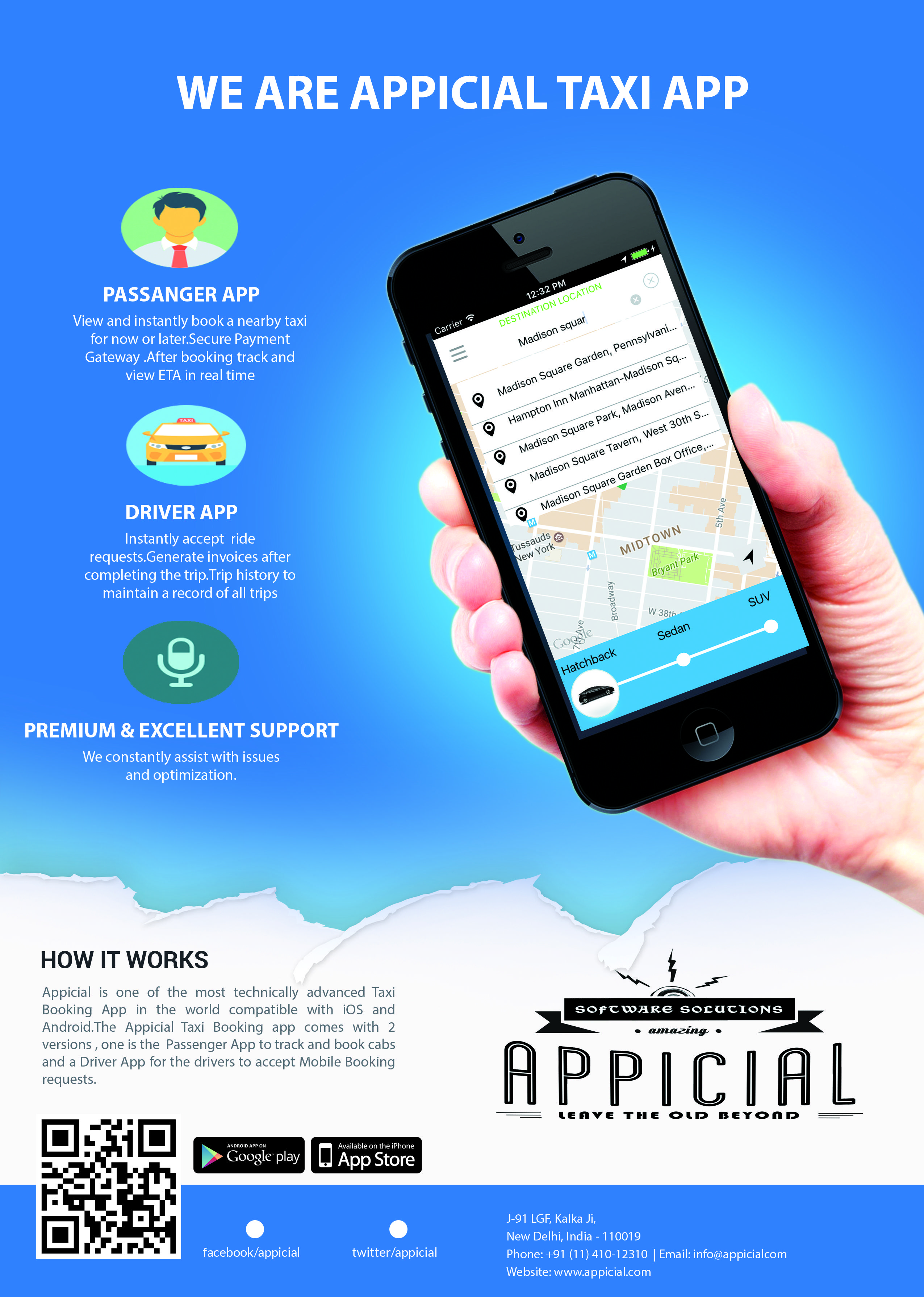 Pin by Grepix Infotech Pvt Ltd on Appicial taxi app solutions | Taxi
