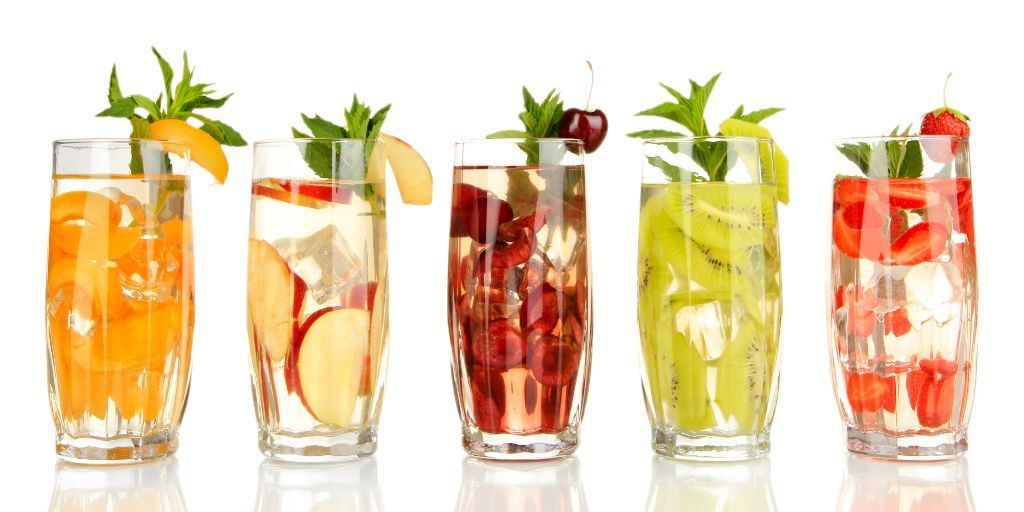 Tasty, Healthy, Low-Calorie Beverages - Namaste Nutritionist | Fruits for glowing skin, Best fruits, How to stay healthy