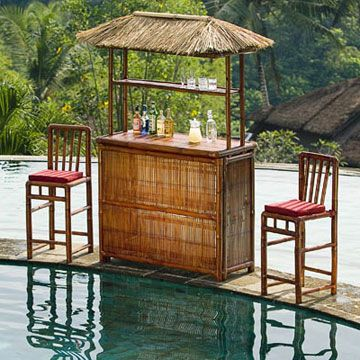 Bamboo Bar Tables   Handcrafted Bamboo Furniture For Outdoor Living