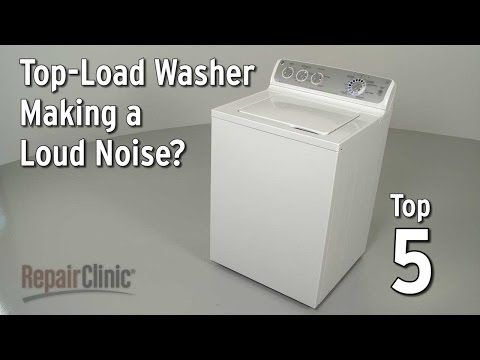 Five Most Common Problems With Washing Machines - YouTube
