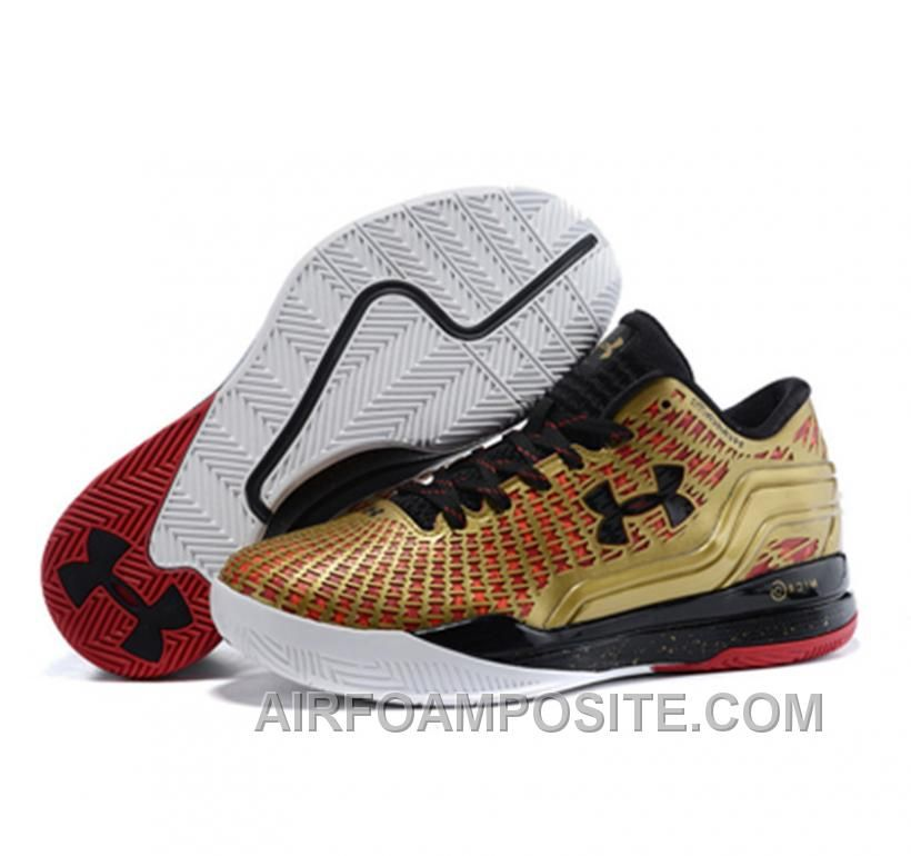 Under Armour ClutchFit Drive Low Stephen Curry Shoes Gold Black 8HhaY