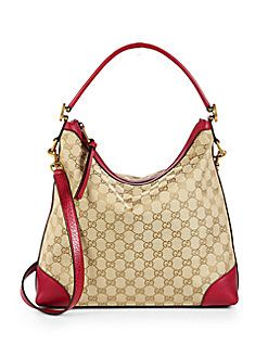b8985e345680 Gucci - Miss GG Original GG Canvas Hobo | purses | Gucci, Bags, Handbags
