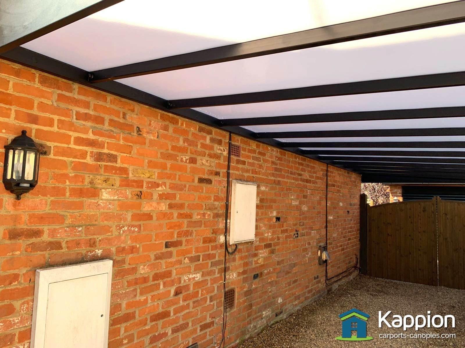 Carport Europort installed in Surrey (With images