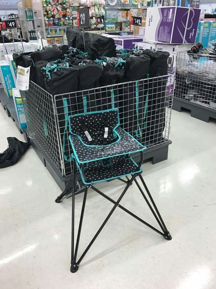 Kmart Baby High Chairs French Country Accent Camping Highchair From Pinterest And With A Twins Dads Kid Stuff
