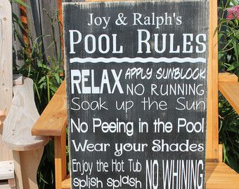 Custom Fire pit Rules Sign campfire rules Sign Backyard ...