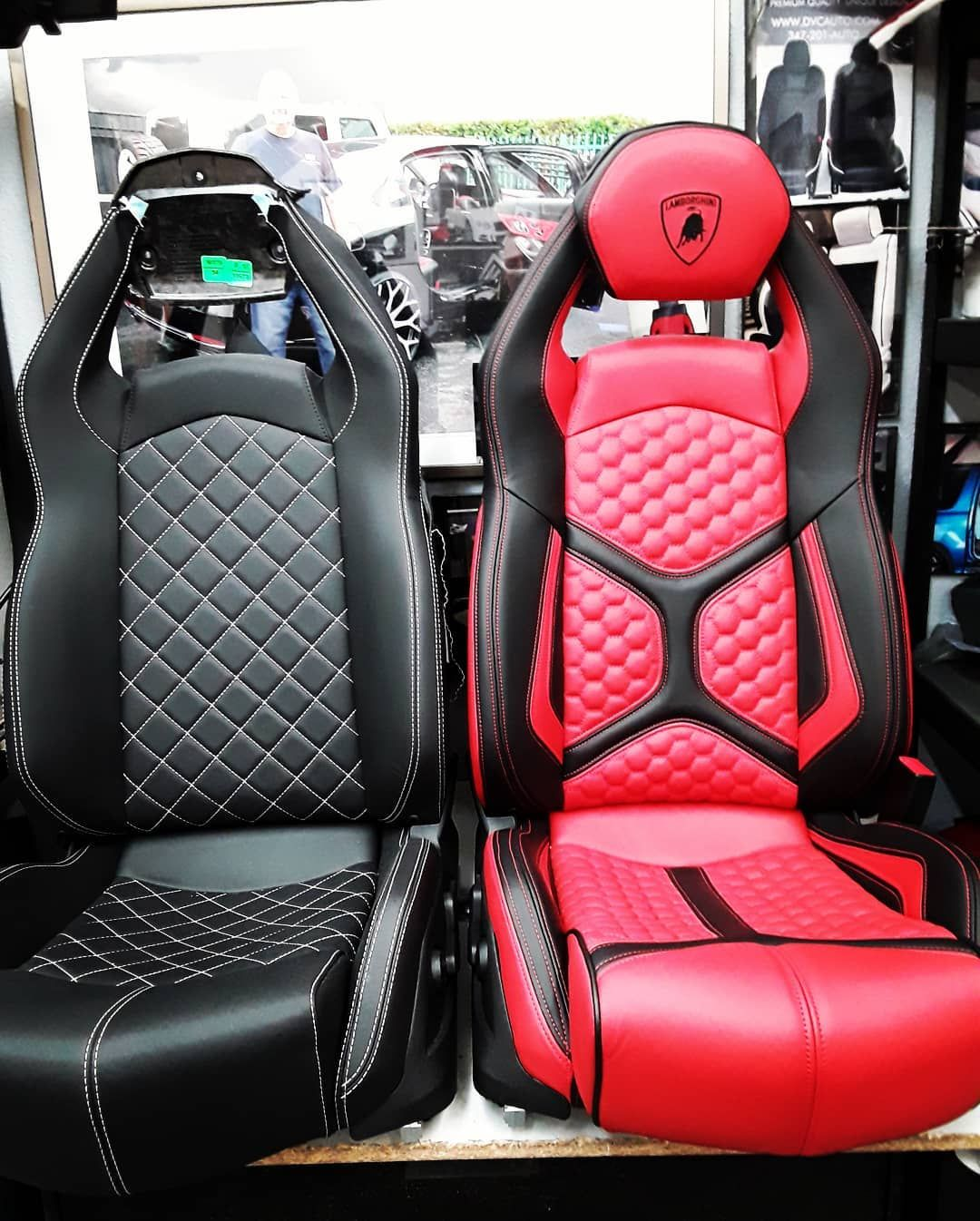 Davydovyinterior On Instagram The Auto Firm Lamborghini Aventador Seats Before And After Avorza Automotive Upholstery Car Seats Lamborghini Aventador